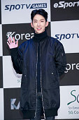 KOREA JANUARY Jo Kwon of South Korean boy band 2AM attends the photocall for the Tekken7 20th Anniversary at W Tower on January 28 2015 in Seoul...