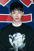 Jo Kwon of South Korean boy band 2AM attends the VIP screening for 'Twenty' at COEX Mega Box on March 18 2015 in Seoul South Korea The film will open...