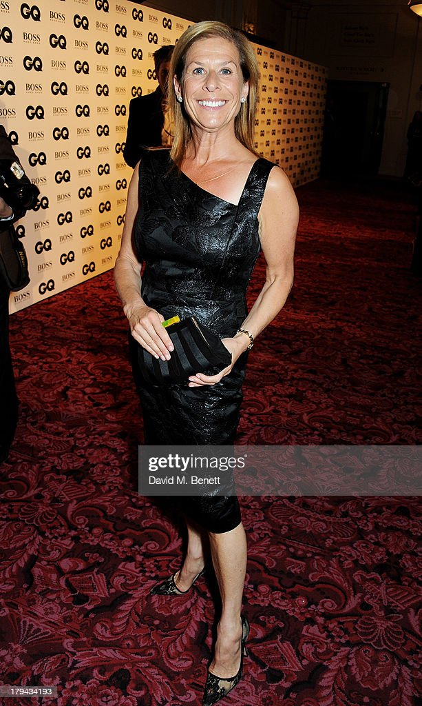 Jo Levin arrives at the GQ Men of the Year awards at The Royal Opera House on September 3, 2013 in London, England.