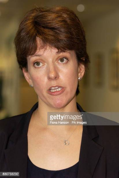 Jo Moore the special adviser to Transport Secretary Stephen Byers pictured at the Department of Transport and Local Government and the Regions...