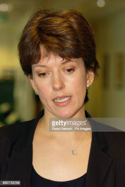 Jo Moore the special adviser to Transport Secretary Stephen Byers at the Department of Transport and Local Government and the Regions central London...