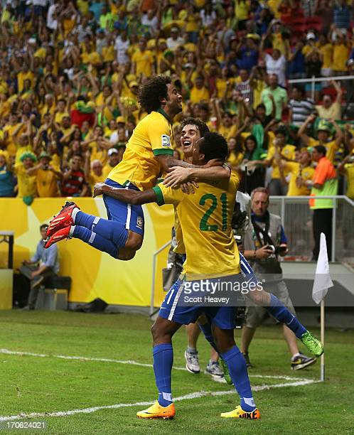 brazil national football team stock photos and pictures