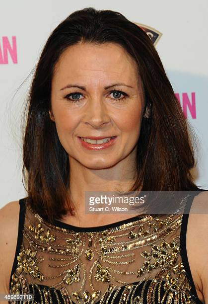 Jo Pavey attends the Cosmopolitan Ultimate Women of the Year Awards at One Mayfair on December 3 2014 in London England