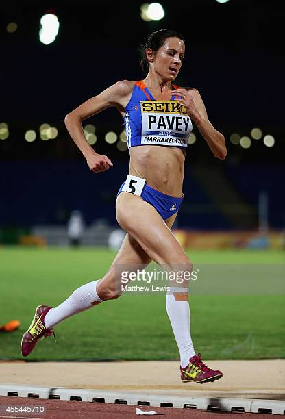 Jo Pavey of Europe in action during the Womens 5000m Final during Day two of the IAAF Continental Cup at the Stade de Marrakech on September 14 2014...