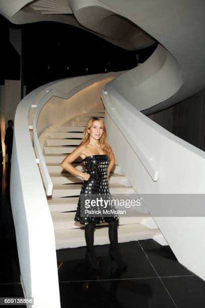 Jo Squillo attends ARMANI/5TH AVENUE store opening at Armani/5th Avenue on February 17 2009 in New York City