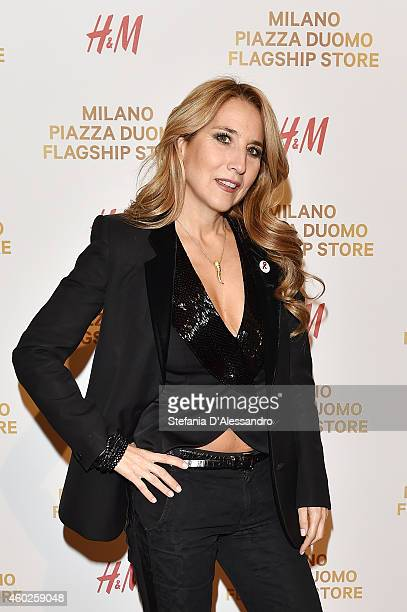 Jo Squillo attends HM New Store Opening on December 10 2014 in Milan Italy