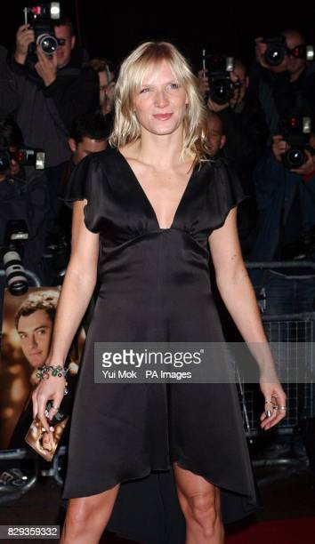 Jo Whiley arrive for the world charity premiere of Alfie at the Empire Leicester Square in central London in aid of MakeAWish foundation