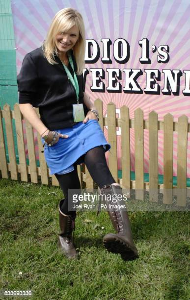DJ Jo Whiley at BBC Radio 1's Big Weekend in Preston