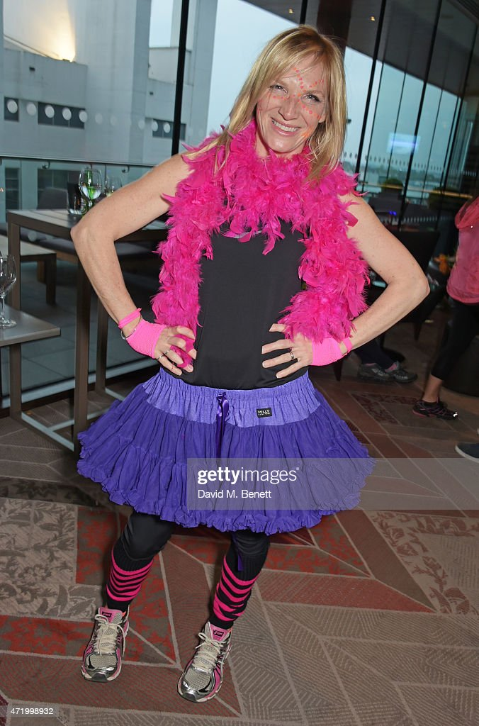 Jo Whiley attends the Electric Run at Wembley Park on May 2, 2015 in London, England.