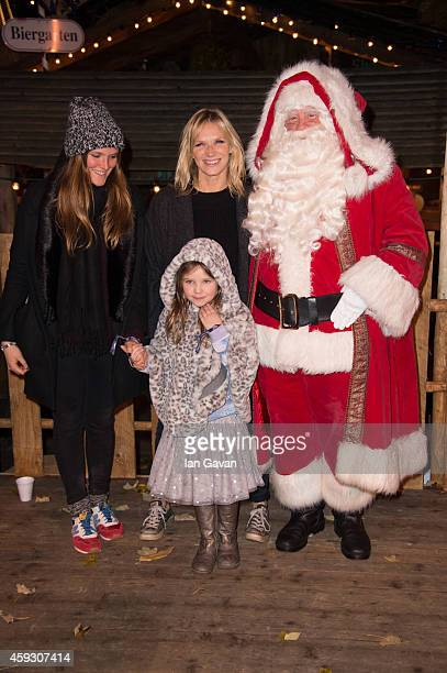 Jo Whiley attends the Winter Wonderland VIP opening at Hyde Park on November 20 2014 in London England