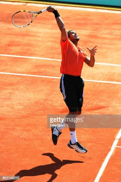 Jo Wilfried TSONGA Entrainement Roland Garros 2010