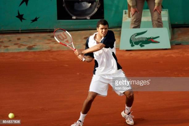 Jo Wilfried TSONGA Roland Garros 2005
