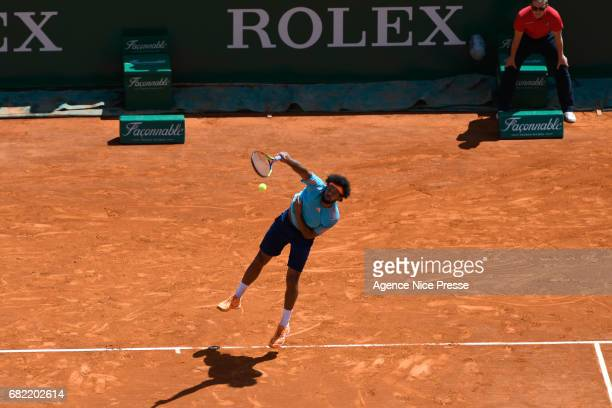 Jo Wilfried Tsonga of France during the Monte Carlo Rolex Masters 2017 on April 18 2017 in Monaco Monaco