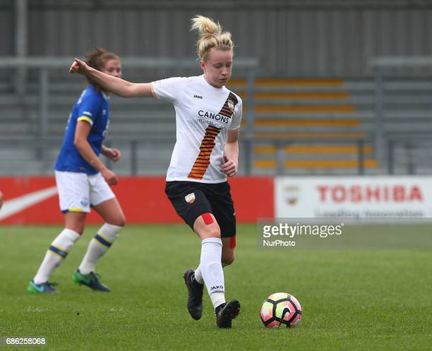 Jo Wilson of London Bees during Women's Super League 2 Spring Series match between London Bees against Everton Ladies at The Hive Barnet FC on 20 May...