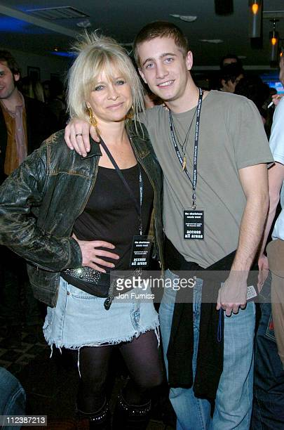 Jo Wood and Tyrone Wood during Hero2Hero Concert Sponsored by O2 Featuring The Charlatans Ronnie Wood plus Guests at Shepherd Bush Empire in London...