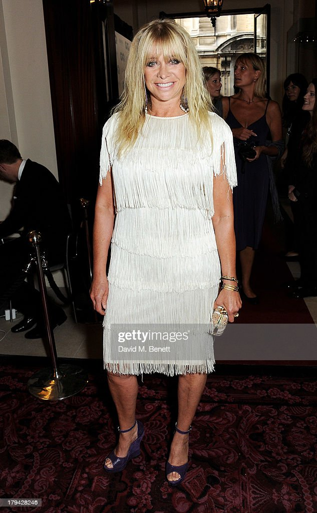 Jo Wood arrives at the GQ Men of the Year awards at The Royal Opera House on September 3, 2013 in London, England.
