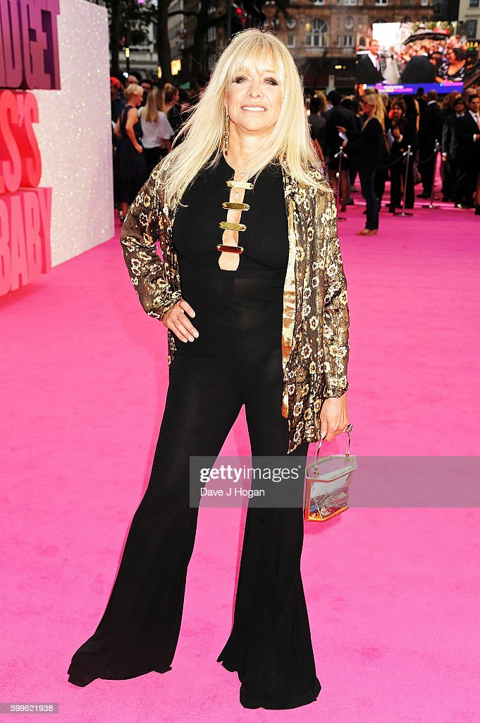 Jo Wood arrives for the world premiere of 'Bridget Jones's Baby' at Odeon Leicester Square on September 5, 2016 in London, England.