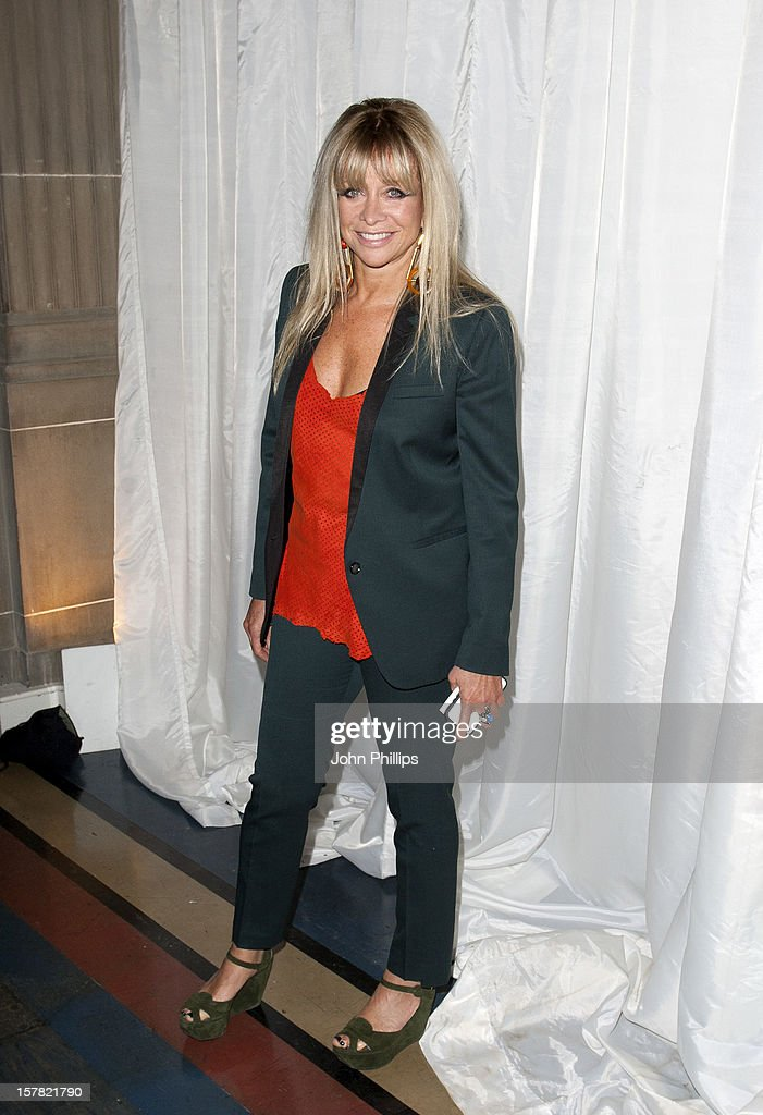 Jo Wood Attending The Catwalk At The Pam Hogg Fashion Show, Held At The Vauxhall Fashion Scout Venue In Freemasons' Hall, As Part Of London Fashion Week.