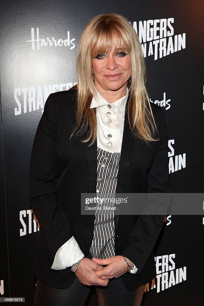 Jo Wood attends an after party following the press night performance of 'Strangers On A Train' at the Cafe de Paris on November 19, 2013 in London, England.