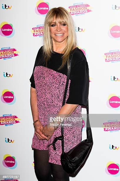 Jo Wood attends Lorraine's High Street Fashion Awards on May 21 2014 in London England