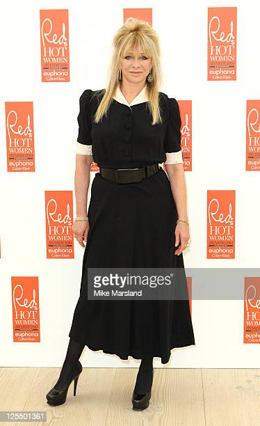 Jo Wood attends Red magazine's 'Red Hot Women Awards' at Saatchi Gallery on November 30 2010 in London England