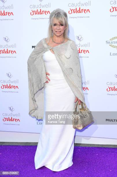 Jo Wood attends the Caudwell Children Butterfly Ball at Grosvenor House on May 25 2017 in London England