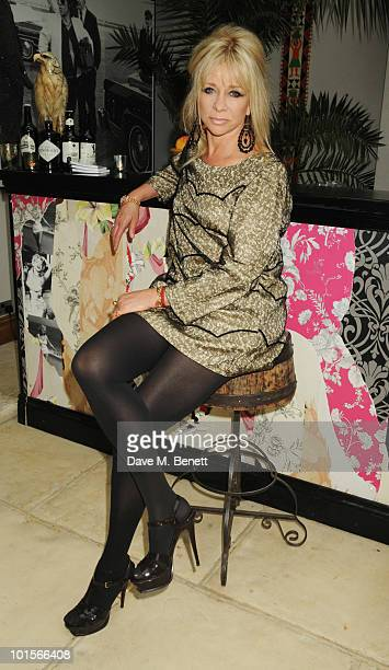 Jo Wood attends the Mrs Paisley's Lashings private dinner on June 2 2010 in London England