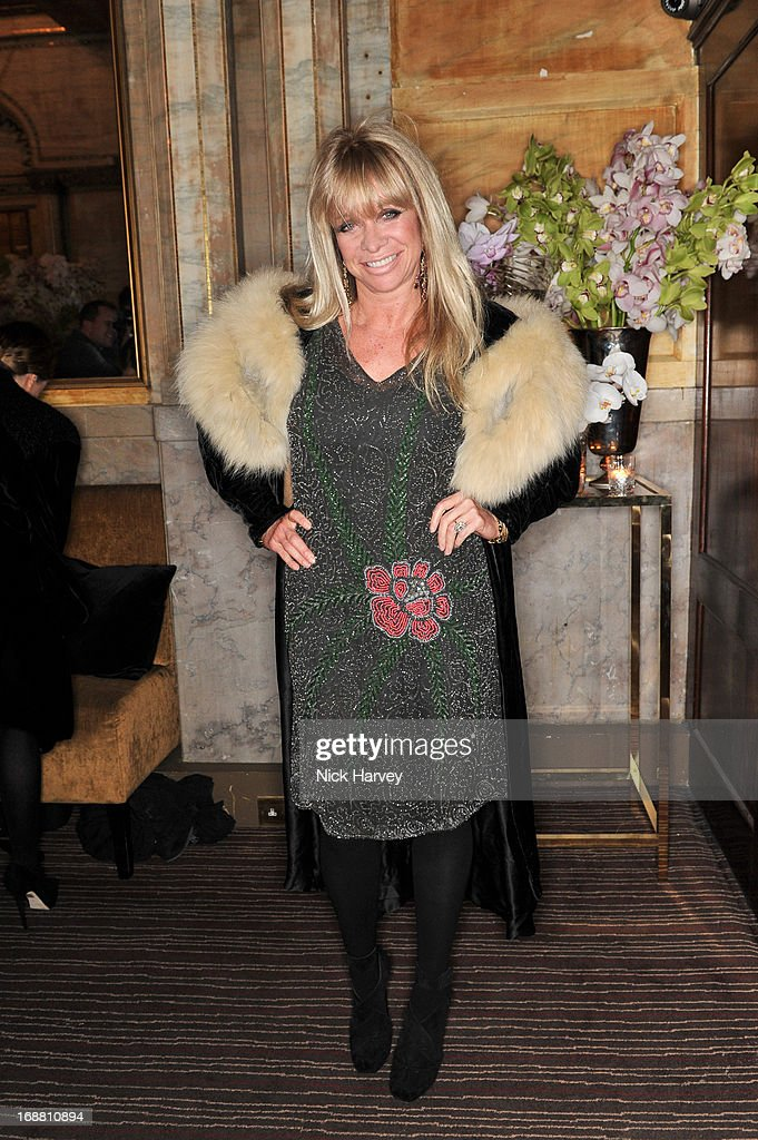 Jo Wood attends the Tiffany & Co. and Warner Brothers special screening of The Great Gatsby on May 15, 2013 in London, England.