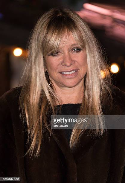 Jo Wood attends the Winter Wonderland VIP opening at Hyde Park on November 20 2014 in London England