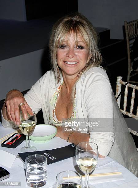 Jo Wood attends Trust In Fashion at One Mayfair on the 29 June2011in LondonEngland lidya bright