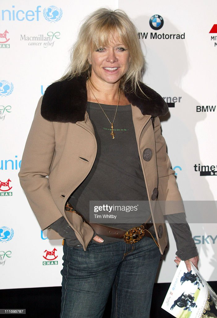 Jo Wood during 'The Long Way Round' Party, Which Raised 200,00 For Charity - Arrivals in London, Great Britain.