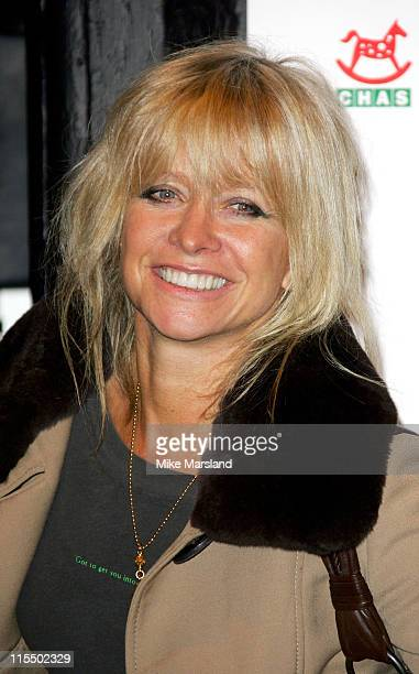 Jo Wood during 'The Long Way Round' Party Which Raised 20000 For Charity Arrivals in London Great Britain