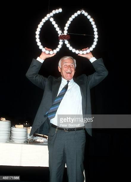 Joachim 'Blacky' Fuchsberger Feier zum 60 Geburtstag am in München Deutschland