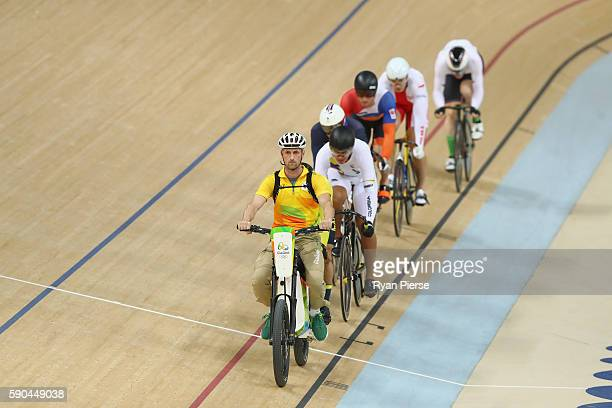 Joachim Eilers of Germany Damian Zielinski of Poland Jason Kenny of Great Britain Matthijs Buchli of the Netherlands Azizulhasni Awang of Malaysia...