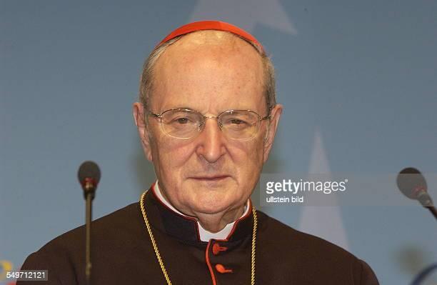 Joachim Kardinal MEISNER einer Pressekonfrenz beim WeltjugendtagWJT in Köln