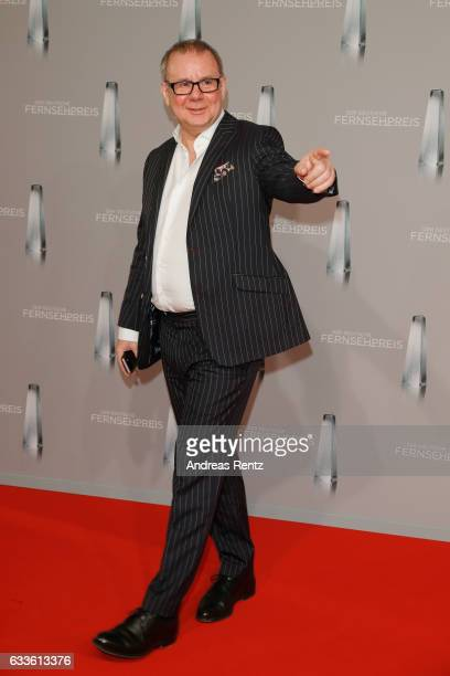 Joachim Krol arrives for the German Television Award at Rheinterrasse on February 2 2017 in Duesseldorf Germany