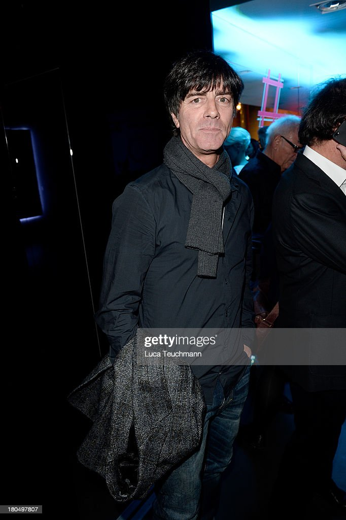 Joachim Loew attends TRUE BERLIN No. 1 By Shan Rahimkhan & Ghd on September 13, 2013 in Berlin, Germany.
