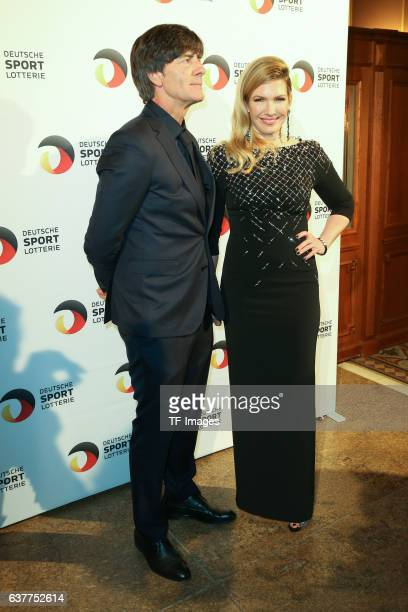 Joachim Loew Jessica Kastrop attend the German Sports Media Ball at Alte Oper on November 05 2016 in Frankfurt am Main Germany