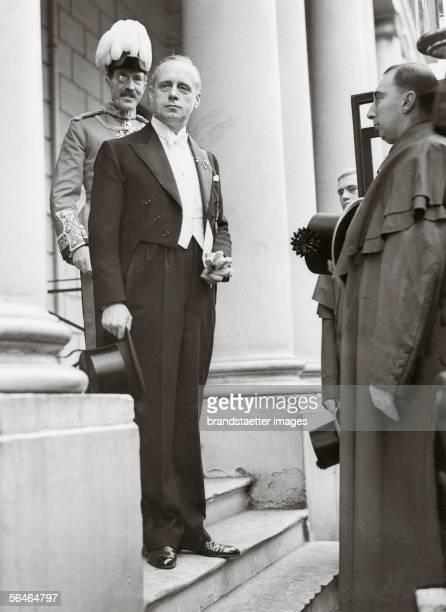 Joachim von Ribbentrop german ambassador in London Photography 1936 [Joachim von Ribbentrop in seiner Funktion als deutscher Botschafter in London...