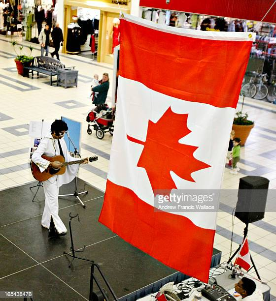 JOACHIM1/24/08Suresh Joachim attempts to set the Guinness world record for nonstop Elvis impersonation at the Shoppers World mall in Brampton January...