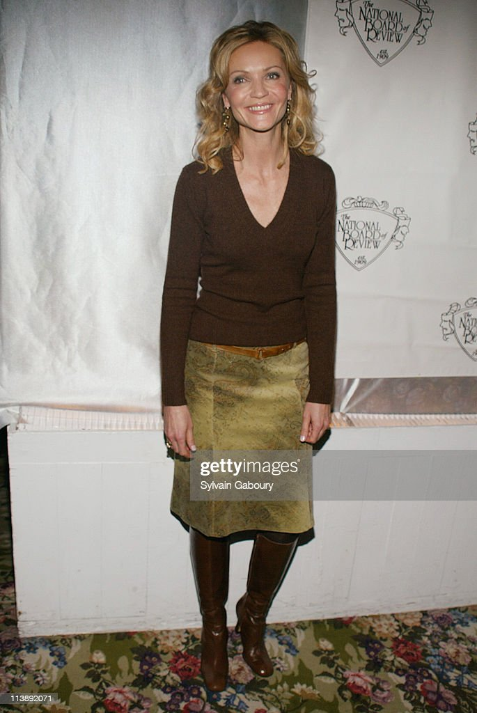 Joan Allen during The National Board of Review Awards Gala at Tavern on the Green in New York, New York, United States.