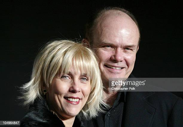 Joan and Kurtwood Smith during Comedy Central's First Annual 'Commies' Awards Arrivals at Sony Studios in Culver City California United States