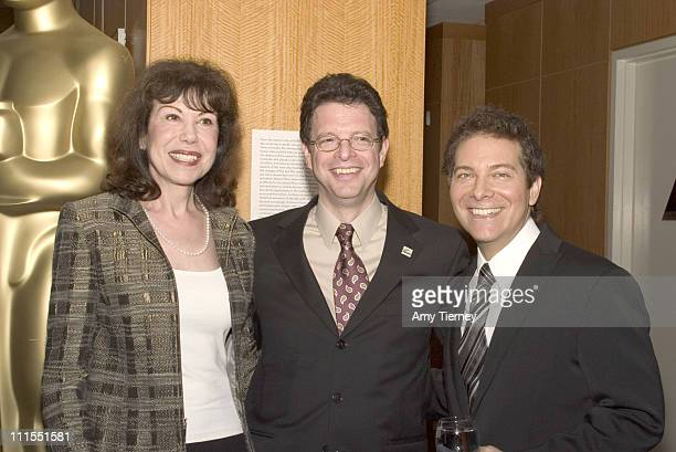 Joan Arlen Sam Arlen and Michael Feinstein during A Centennial Tribute to Harold Arlen at Academy of Motion Picture Arts and Sciences in Beverly...