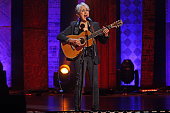 'Joan Baez 75th Birthday Celebration' at Beacon Theater on Wednesday night January 27 2016This imageJoan Baez performing 'Swing Low'