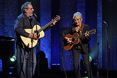 'Joan Baez 75th Birthday Celebration' at Beacon Theater on Wednesday night January 27 2016This imageJoan Baez right with David Bromberg performing...
