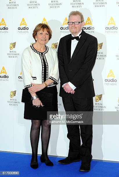 Joan Bakewell arrives for The Royal Television Society Programme Awards at The Grosvenor House Hotel on March 22 2016 in London England