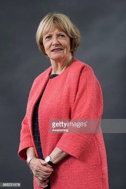 Joan Bakewell attends the Edinburgh International Book Festival on August 21 2016 in Edinburgh Scotland The Edinburgh International Book Festival is...