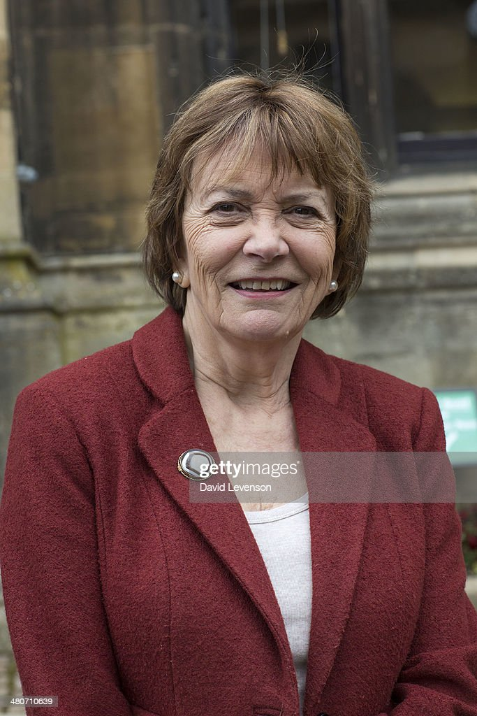 <a gi-track='captionPersonalityLinkClicked' href=/galleries/search?phrase=Joan+Bakewell&family=editorial&specificpeople=224989 ng-click='$event.stopPropagation()'>Joan Bakewell</a>, journalist and television presenter, on Day 5 of the FT Weekend Oxford Literary Festival on March 26, 2014 in Oxford, England.