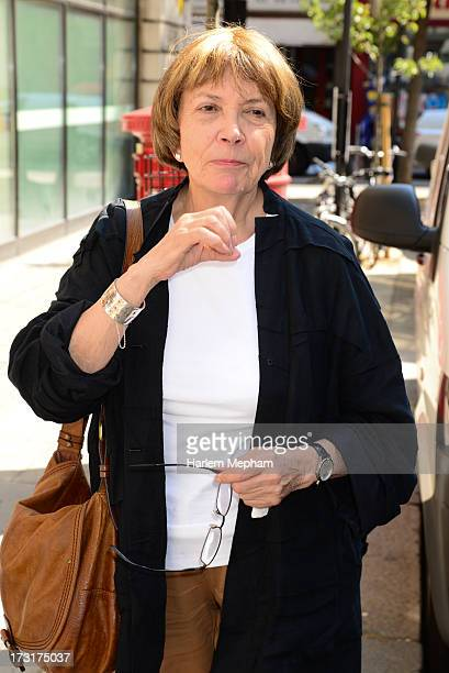 Joan Bakewell sighted leaving BBC Radio Two on July 9 2013 in London England
