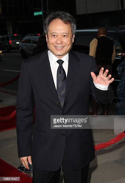 Joan Chen and Director Ang Lee at the Los Angeles Premiere of 'Lust Caution' presented by Focus Features at the Academy of Motion Pictures Arts and...